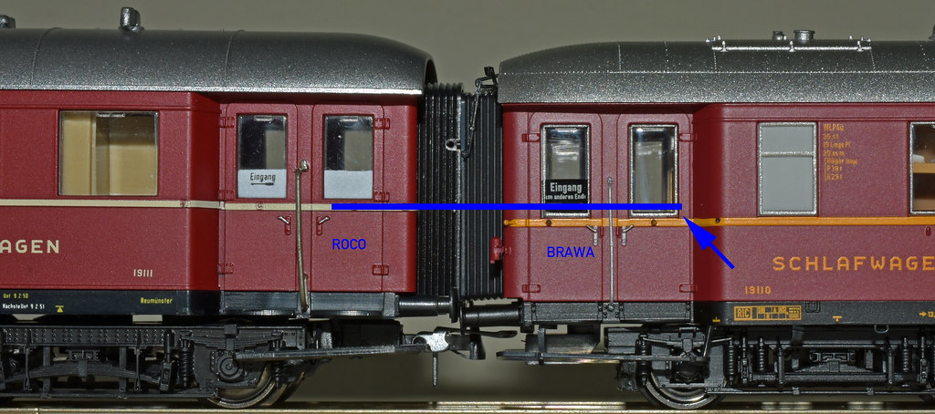 ROCO und BRAWA - mind the gap!