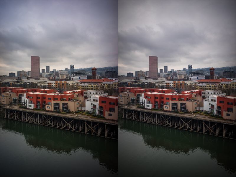 uncorrected vs corrected color cast | Sony A7 Kolari UT | Carl Zeiss Contax G 28mm f/2.8 Biogon + 5m PCX | f/5.6