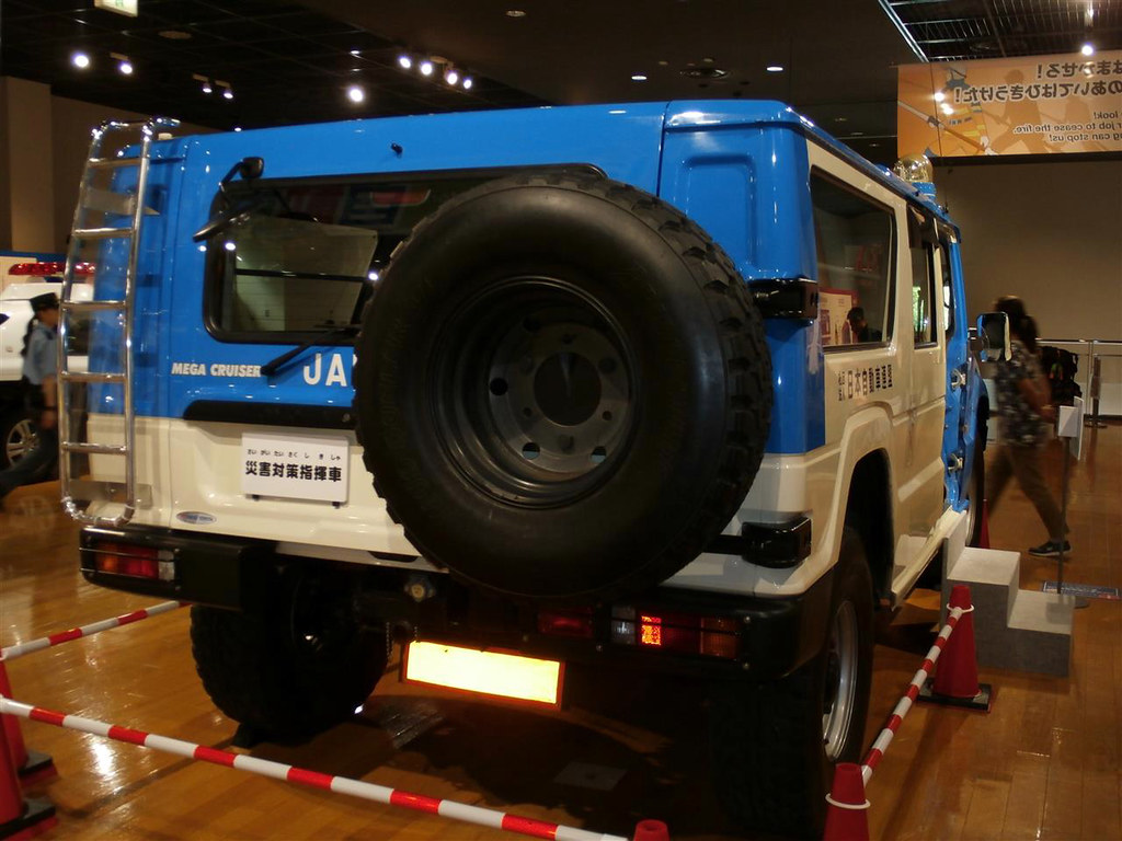 Toyota Mega Cruiser Jaf Emergency Vehicle Japanese Automob Flickr By Sda007