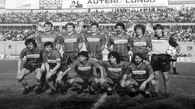 Una formazione del Catania 1984-85 (Foto: Tutto il Catania minuto per minuto)