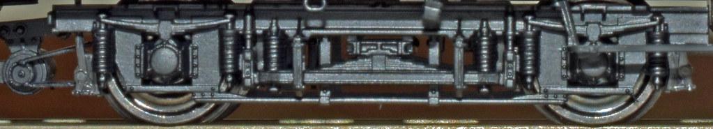 BRAWA Drehgestell Görlitz III leicht mit 4. Federung