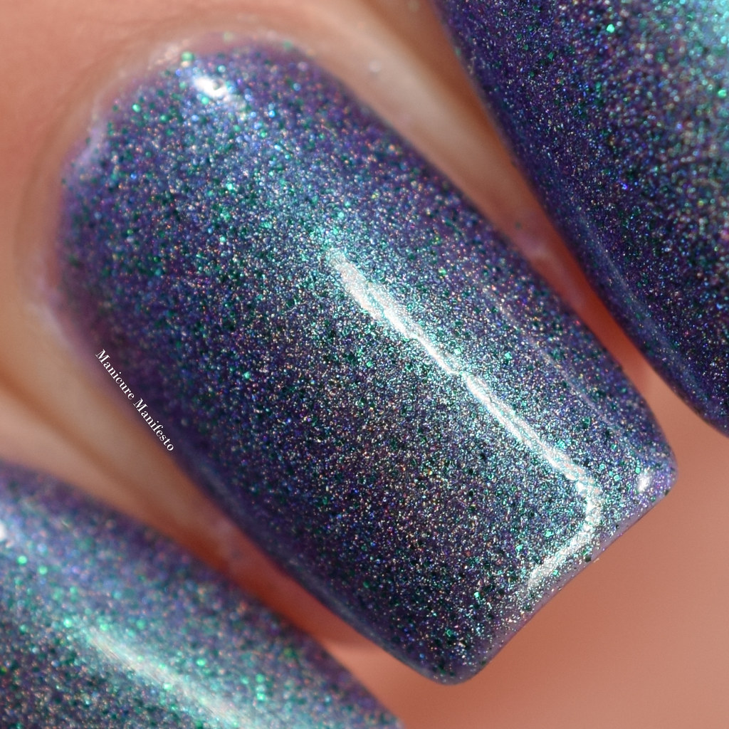 Girly Bits Blue Year's Resolution swatch