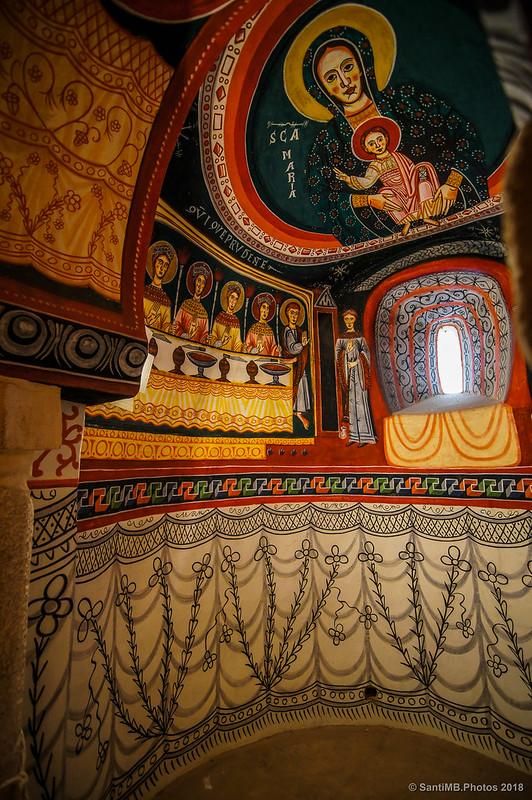Capilla sur de Sant Quirze de Pedret