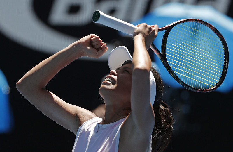 謝淑薇寫下生涯女單賽事的代表作。(達志影像資料照)