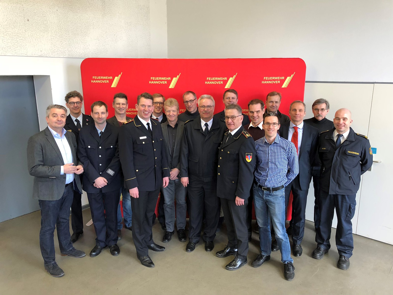 Neugründung FA Leitstellen und Digitalisierung von DFV und AGBF-Bund, Hannover, 24. Februar 2018 - Foto: Carsten-Michael PIX
