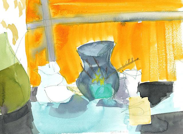 Semi abstract still life