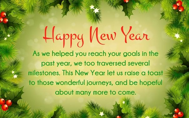 happy new year 2018 quotes business clients new year wishes happynewyear by