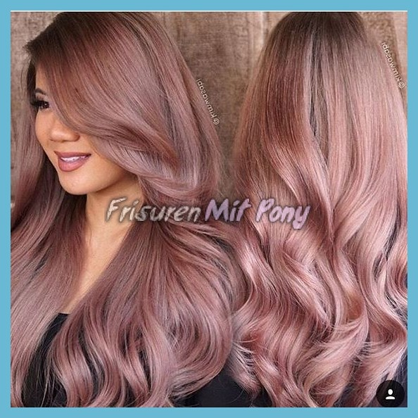 Rose Gold Haarfarbe 2018 Rose Gold Haarfarbe 2018 Rose Gol Flickr