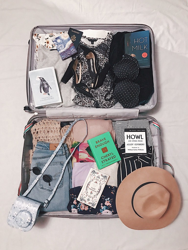 suitcase full of clothes