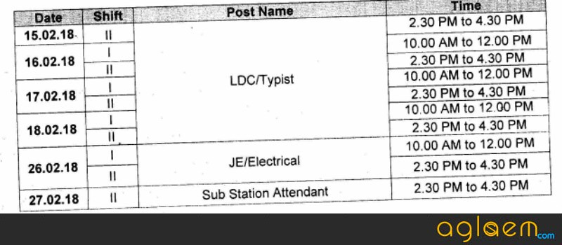 PSPCL JE SSA Admit Card 2018   Download PSPCL Call Letter