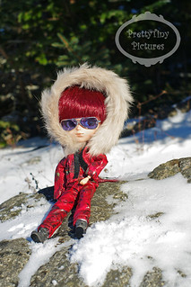 Daesani snowsuit sitting rock sm | by Alliecat09