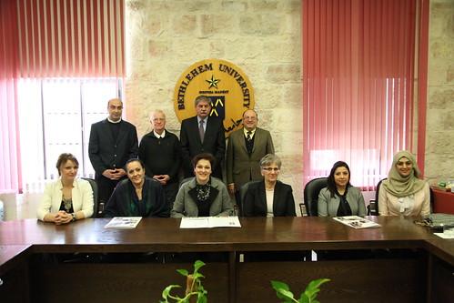 وكيل وزارة خارجية الجبل الأسود يزور جامعة بيت لحم ويطلع على اخر مشاريعها التنموية