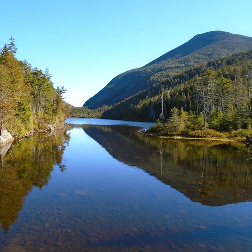 upstateny Lake Colden from the Southwest...