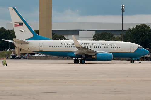 C-40B 01-0041 Andrews AFB WM | by finband76