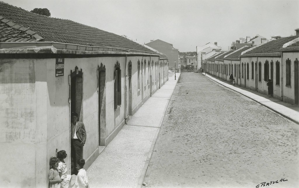 Rua do Garrido, Alto do Pina (E.Portugal, 1939)
