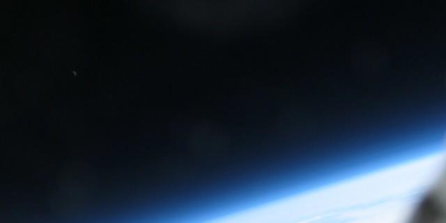 VCSE - A maga nemében egyedülálló felvétel: a Hold 25 km magasról.