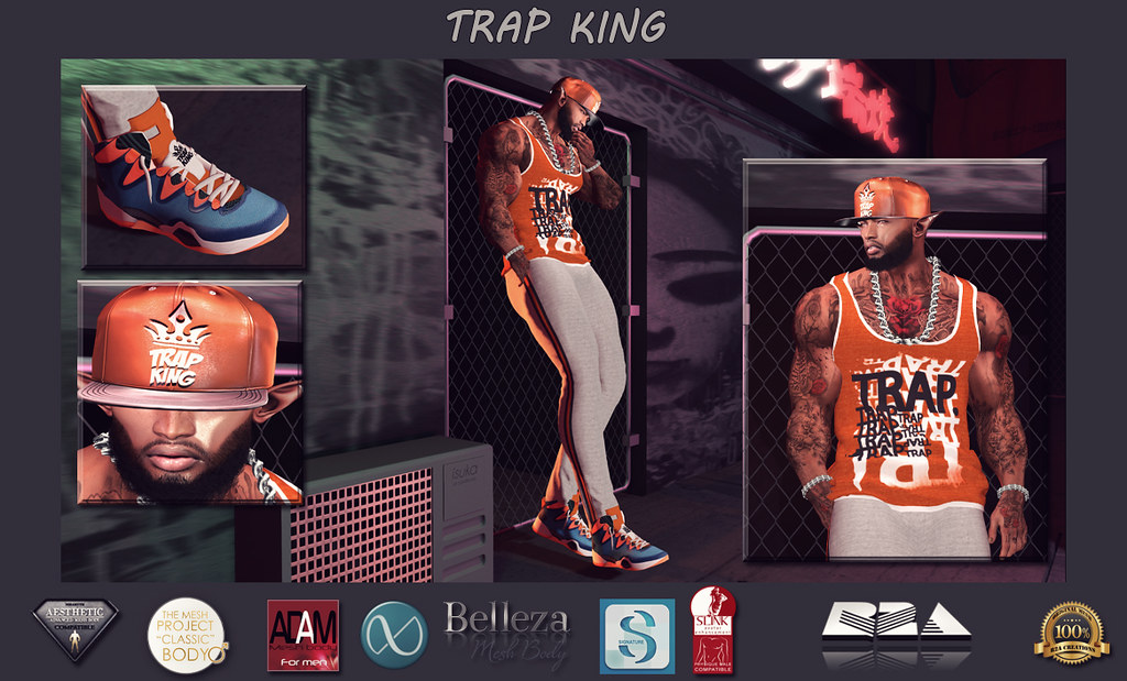 TRAP KING OUTFIT Logo Pic