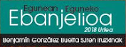 Egunean eguneko Ebanjelioa 2018