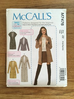The Long, Long Cardigan:  McCall's 7476 | by patternandbranch