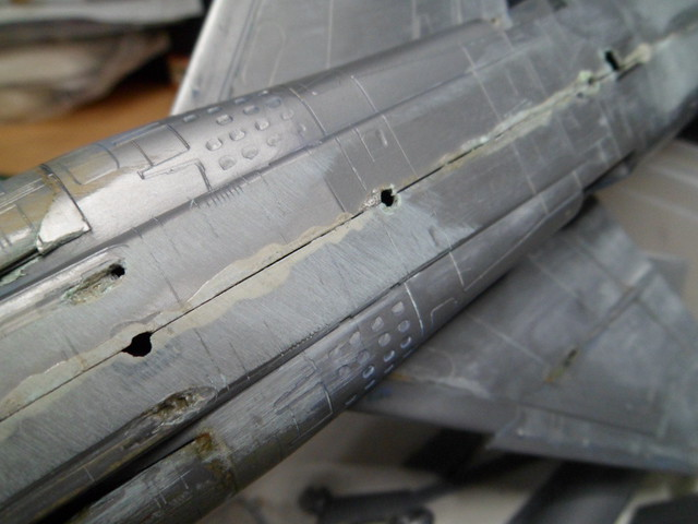 *Renaissance en-cours* Dassault Mirage F1 [ESCI 1/48] 38442137875_16b8297691_z