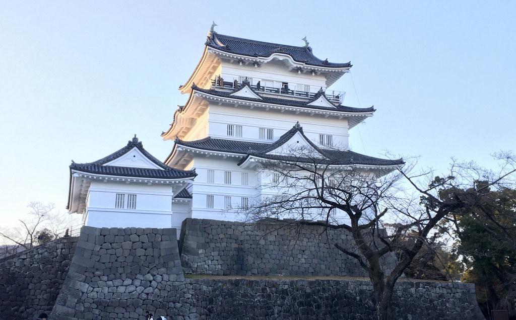 Thành cổ Odawara (小田原城)