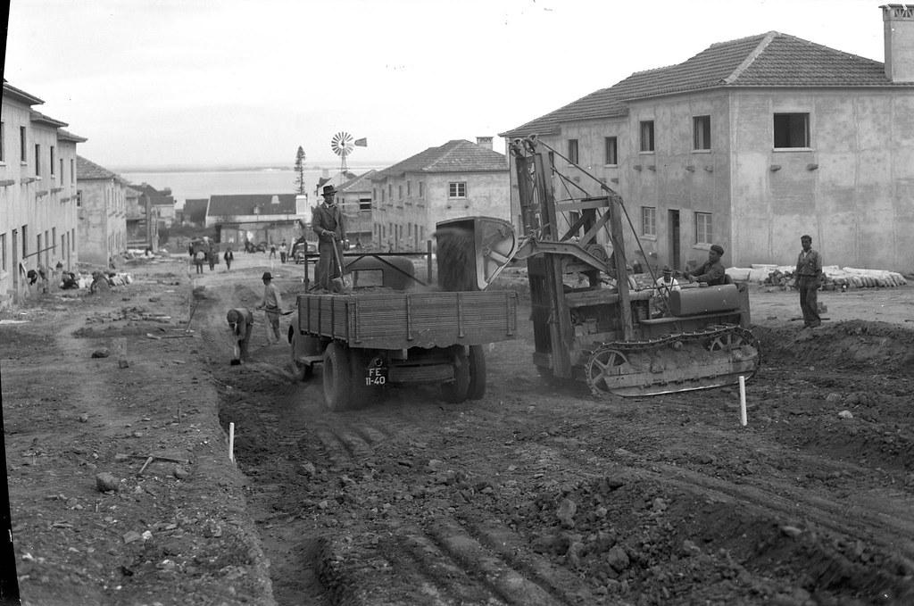 Bairro da Madre de Deus, Lisboa (E.Portugal, 1944)