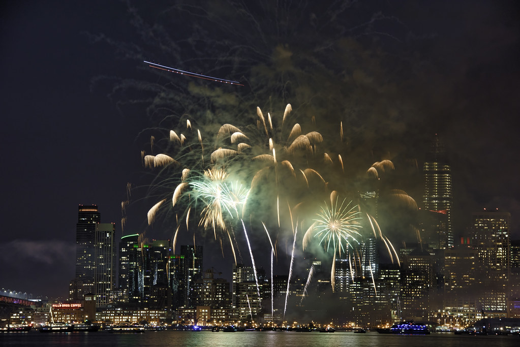 Image result for san francisco fireworks from treasure island