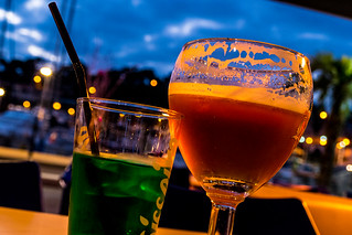 A Drink in Christmas Lights | by NathalieSt