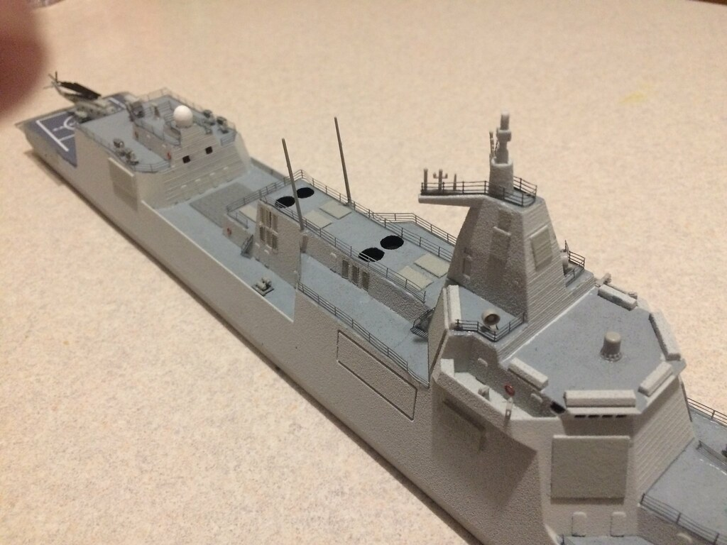 Finished model 7