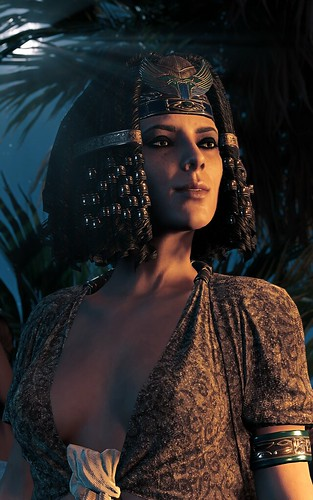 """""""Cleopatra And Moon"""" 