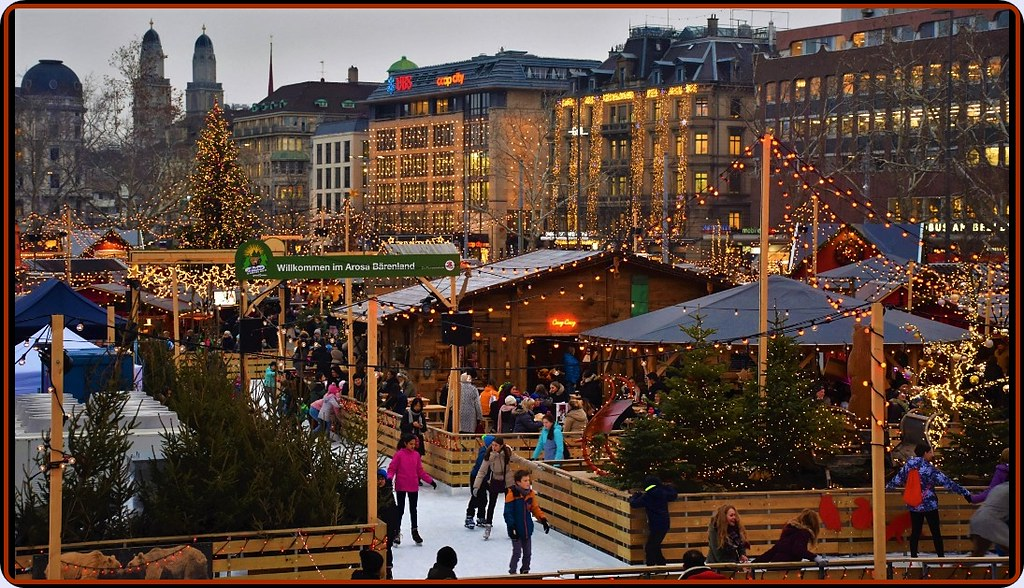 Zurich Christmas Market - Bellevue | Many Thanks to the +6,5… | Flickr
