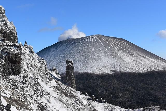 ゴリラ岩と浅間プリン