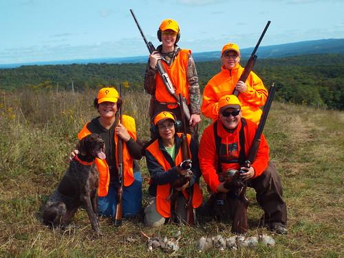 Photo of women hunting