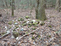 More Organized Rocks Near East Jones Creek