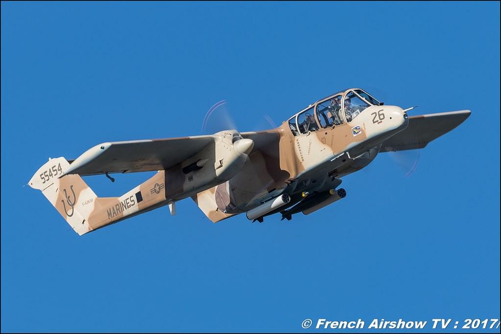 Ov-10 Bronco meacmtl montelimar , Avignon Air Show 2017 , Aéroclub Vauclusien , avignonairshow2017 , Meeting Aerien 2017