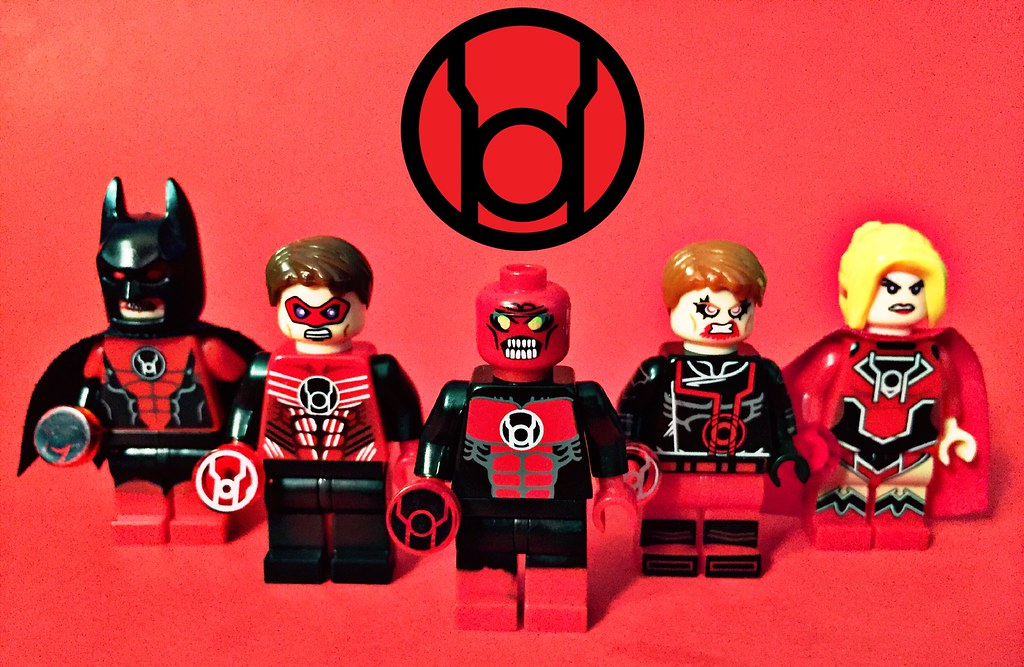 lego red lantern corps 2017 all members of the corps fille flickr