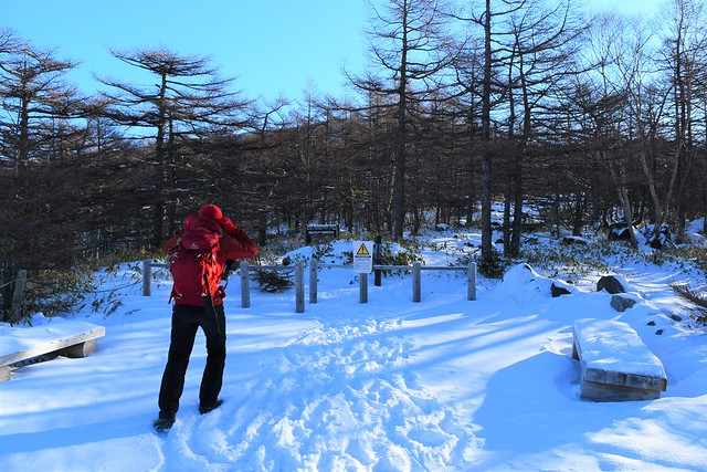 黒斑山(浅間山)登山口