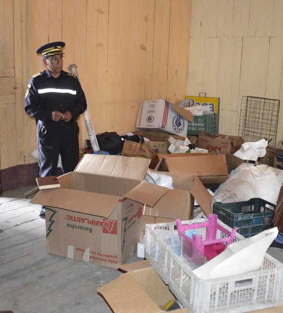 Mercadería incautada por la Policia Municipal desaparece de bodega
