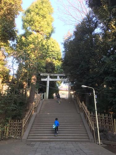 渋谷 氷川神社 2018.1.6