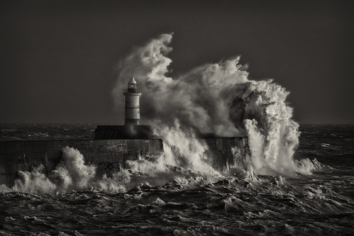 Storm Eleanor - Newhaven Black and White 2 | by Nimbus20