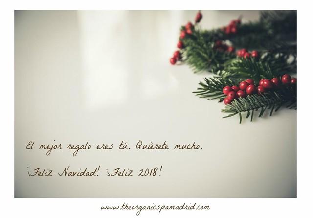 The Organic Spa te cuida también en Navidad