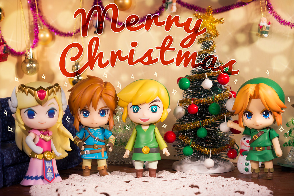 Legend of Zelda Christmas | Zelda and the Links wish you a M… | Flickr