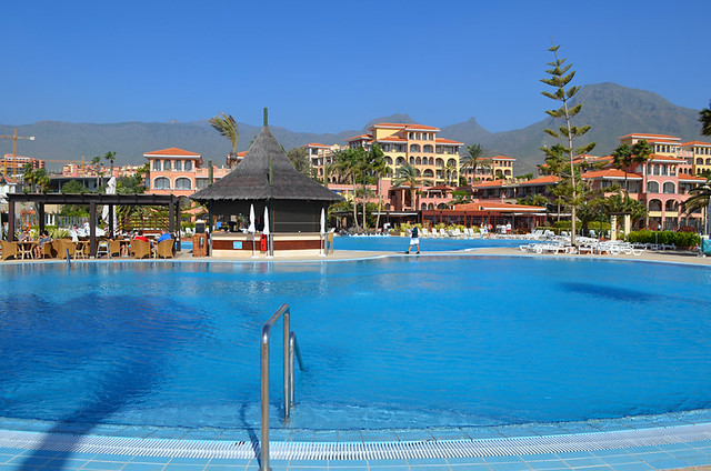 Swimming pool, Iberostar Anthelia, Costa Adeje, Tenerife