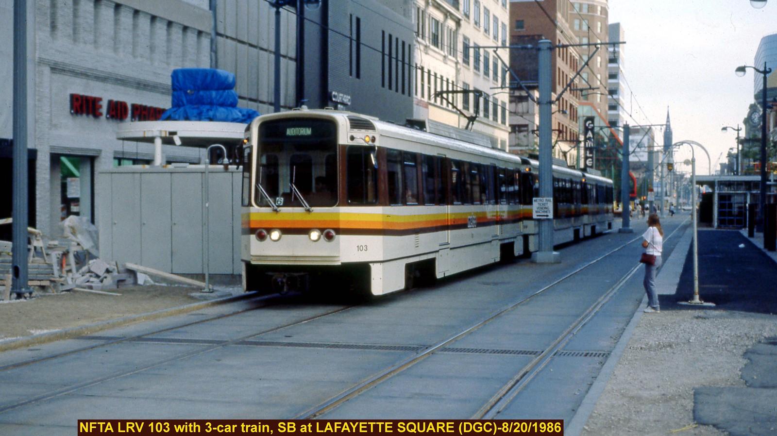 Nfta Buffalo Ny Light Rail Metro Flickr