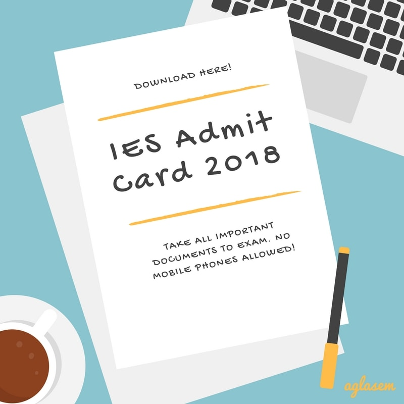 IES Admit Card 2018 (upsc.gov.in) for Prelims Available – Download Here