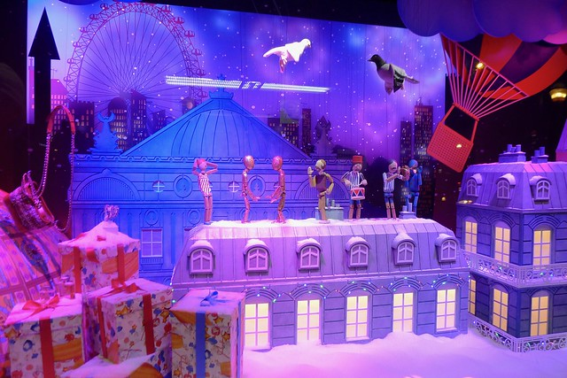 Galeries Lafayette - 2017 Christmas window displays, Paris