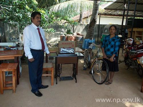 Distribution of Livelihood assistance to Women headed families - Jaffna