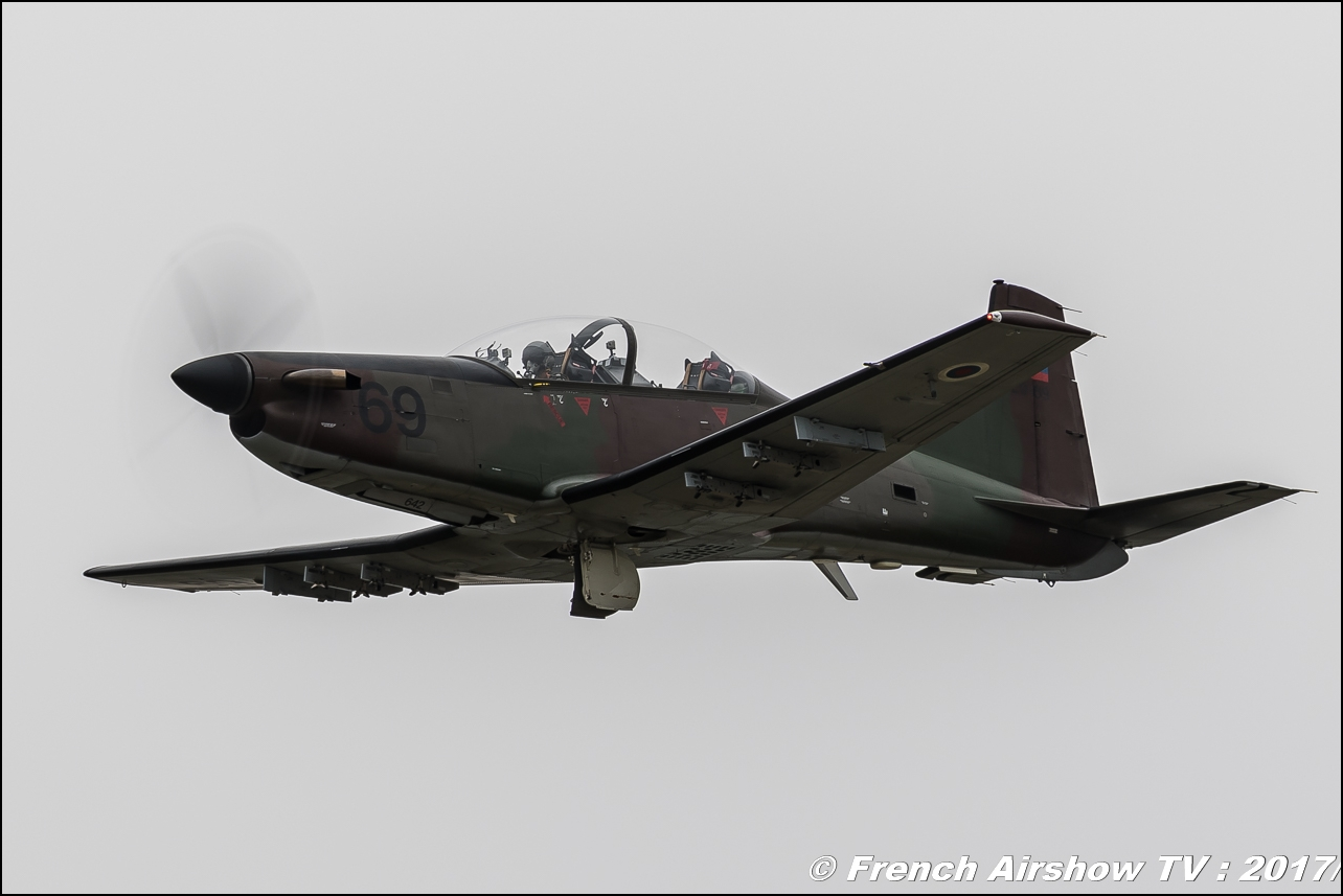 Pilatus PC-9M of the Slovenian Armed Forces , Royal International Air Tattoo 2017 , Air Tattoo – RIAT 2017 , Fairford , UK Airshow Review 2017 , Meeting Aerien 2017