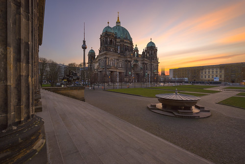 "Sunrise at the ""Berliner Dom"" - Berlin / Germany 