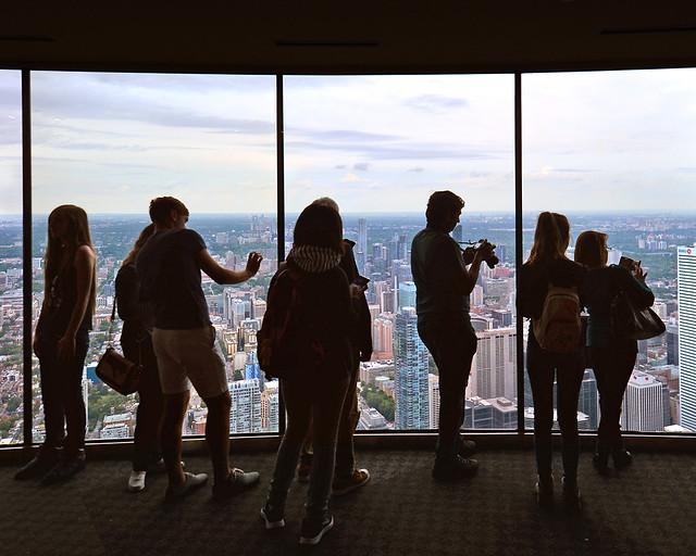 Mirador de la CN Tower de Toronto